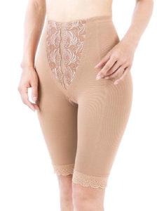 太ももの脂肪吸引術後-フルロングガードル(膝上丈)