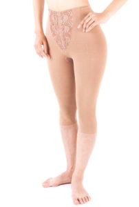 太ももの脂肪吸引術後-ニーロングガードル(膝下丈)